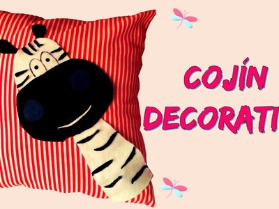 Cojín decorativo - DIY MANUALIDADES