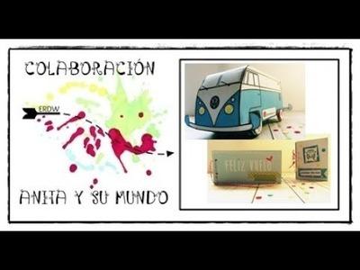 COLABORACIÓN ANITA Y SU MUNDO || PROYECTO AVENTURA || MANUALIDADES Y SCRAP