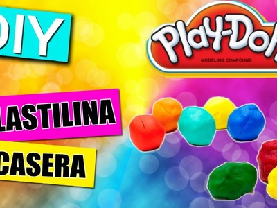 Como Hacer Plastilina Casera o Play doh  | Manualidades para Niños | Experimentos Caseros