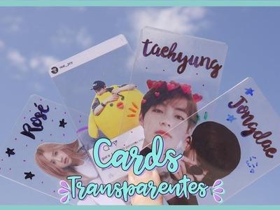 DIY K-POP : Haz tus propios cards transparentes de tus grupos favoritos