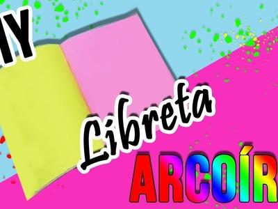 DIY | LIBRETA ARCOÍRIS | MANUALIDADES FÁCILES | CRAFTINGHOLIC