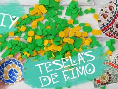 DIY - Teselas de Fimo para crear tus propios mosaicos