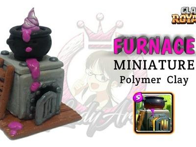 Furnace | Clash Royale | Polymer Clay Tutorial