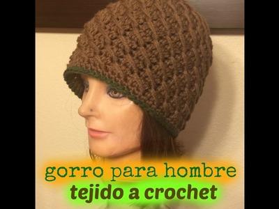 Gorro Para Caballero A crochet