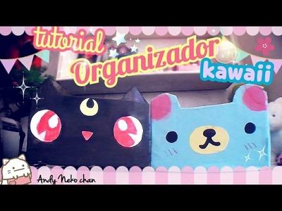 HAZ ORGANIZADORES KAWAII ♥????\ fácil \manualidades \DIY \sailor moon