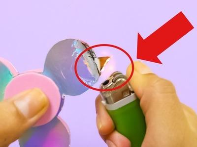 Manualidades con reciclaje-como hacer un fidget spinner casero sin rodamiento
