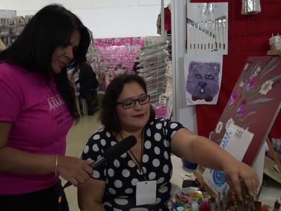 Pinceles REX  en Manualidades con Claudia Enriquez