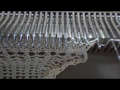 Tejido a Maquina: Puntos fantasía en Knittax,evitar bordes enrollados y cerrado de puntos