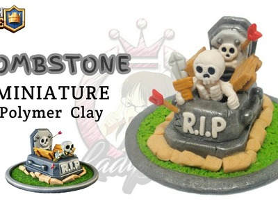 TombStone | Clash Royale | Polymer Clay Tutorial