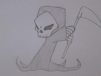 Cómo dibujar la Muerte