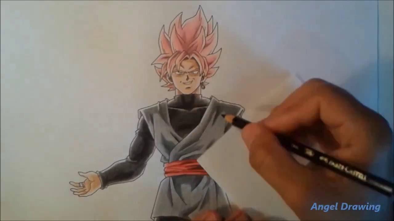 Zamasu Vs Goku Black Dibujo Lápiz Wwwincreiblefotoscom