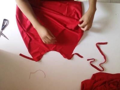 DIY BLUSA SUPER FACIL  crea tu propia ropa