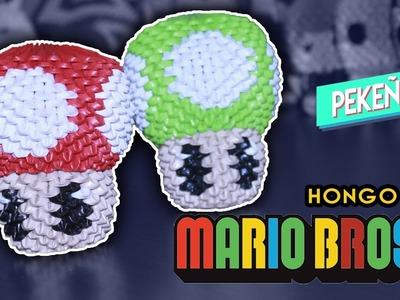 Hongo de Mario Bross 3D Origami   Pekeño ♥