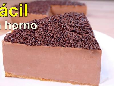 La tarta de chocolate más fácil y rica de hacer del mundo - postres faciles y rapidos de hacer