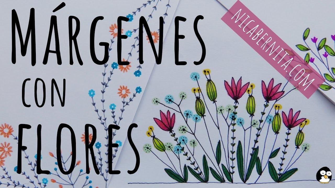 Márgenes Para Portadas De Cuadernos Y Bordes Para Cartas Con