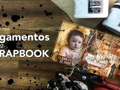 ¿Que pegamento usar para  tus álbumes de Scrapbook? - Básicos de encuadernación y cartonaje