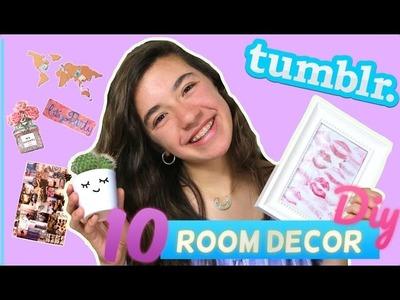 10 TUMBLR ROOM DECOR. Ideas para decorar tu cuarto | Kitty Sweety