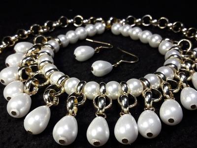 Collar de Perlas Elegante y Fácil. Clase #46!!!