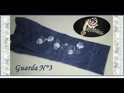 ♥ Como bordar una rosa ♥ Guarda N°3 ♥