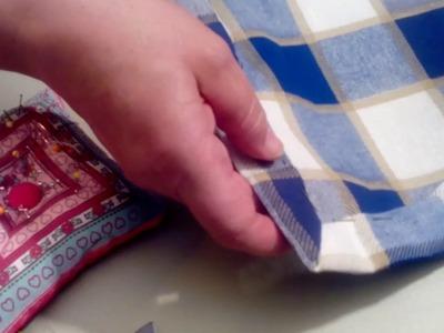 Como hacer esquina de servilleta en inglete