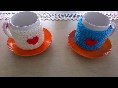 Cubre tazas San Valentin