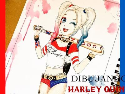 Dibuja a Harley Quinn versión Anime