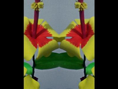 Flor de Hibisco de E.V.A