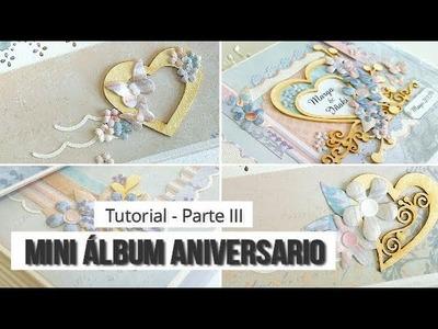 MINI ALBUM CON MALETIN, CON KORA PROJECTS - TUTORIAL (PARTE 3 - DECORACION) | LLUNA NOVA SCRAP
