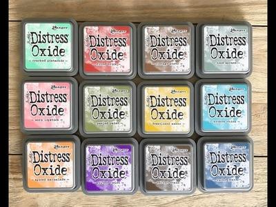 Nuevas Tintas Distress Oxide