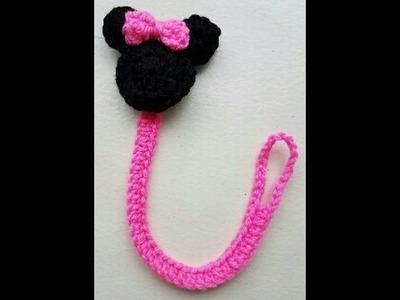 Porta chupete de Minnie Mouse