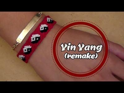 Pulsera de Hilo: Yin Yang (remake)
