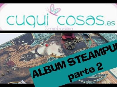 SCRAP ALBUM STEAMPUNK PARTE 2
