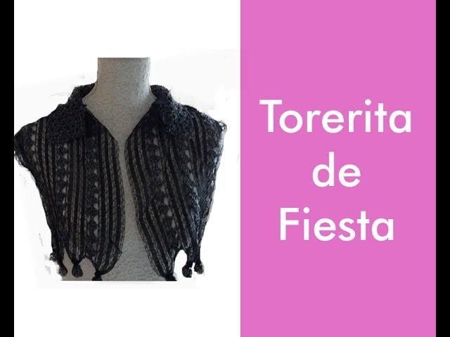 TEJE TORERITA DE FIESTA - GANCHILLO FÁCIL Y RÁPIDO - YO TEJO CON LAURA CEPEDA