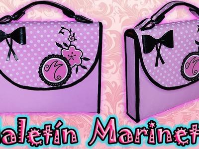 ♥ Tutorial: Maletín o Mochila de Marinette [Miraculous Ladybug] ♥