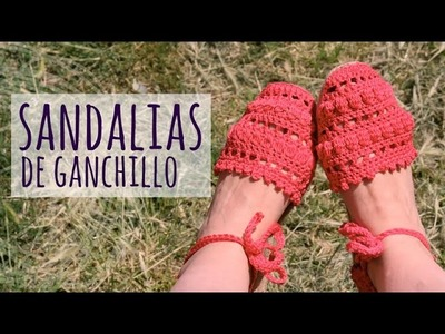 Tutorial Sandalias Fácil y Rápido Ganchillo | Crochet