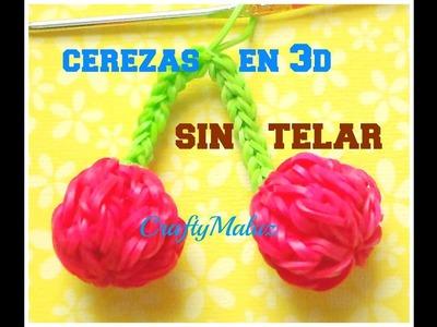 Tutoriales:♥Cerezas de gomitas en 3D SIN TELAR ♥