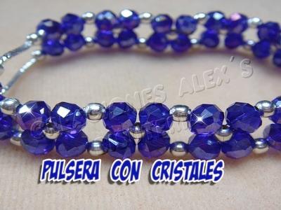 Bisuteria Pulsera de Cristal. . . . . . .((31))