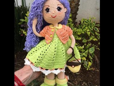 Como bordar ojos amigurumi muñeca Carolina By Petus (8.8)