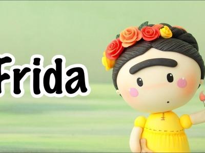 Cómo Hacer  Una Frida | Pasta Flexible | PORCELANA FRÍA