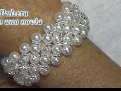 # DIY - Pulsera de novia # DIY - Bridal Bracelet