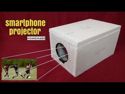 How To Make a Smart Phone Projector - Homemade