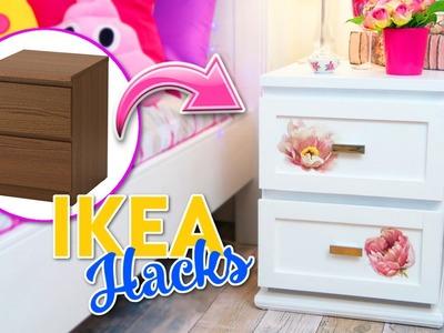 IKEA HACKS - TRANSFORMACION DE COMODA MALM IKEA - ROOM DECOR IDEAS DECORA TU CUARTO CON POCO DINERO