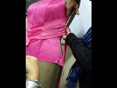Clase de Drapeado- Alta Costura