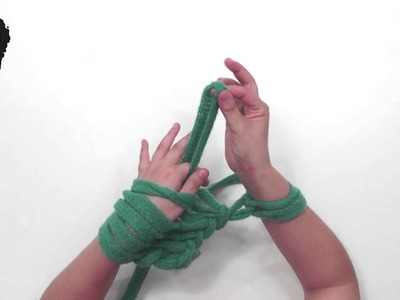 Como tejer con los brazos con Handy