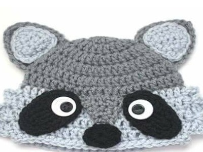 Gorros de animales Tejidos En Crochet y Dos Agujas Para Niños