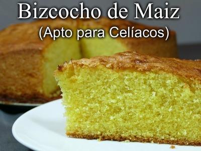 Bizcocho de Maiz (Apto para Celíacos)