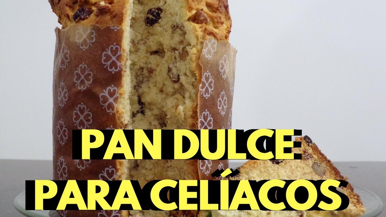 Cómo hacer pan dulce navideño para celíacos - Receta libre de gluten, Sin TACC