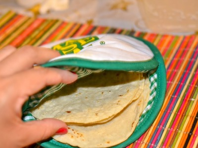 Como hacer tortillas a mano