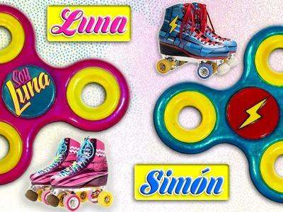 ♥ DIY: Fidget Spinner Reversible de SOY LUNA y Simón ó Matteo ♥
