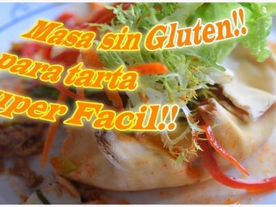 Masa de tarta Sin Gluten! Super Facil!|La Cocina Libre